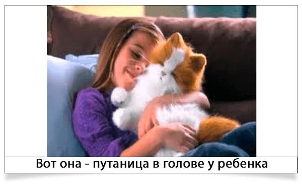 ненастоящий кот