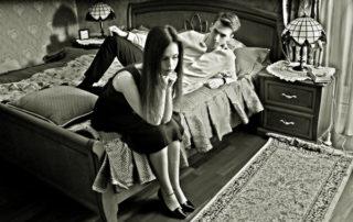 сложные отношения в паре